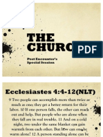 The Church(PEP 2011) (1)