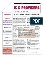 Payers & Providers National Edition July 2011