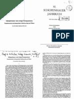 Schopenhauer Jahrbuch - 1980 02