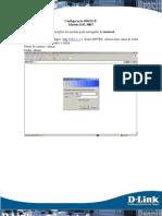DSL 500T - Configuracoes Para o Modo Bridge