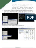 Procedimento Atualizacao Firmware DSL-500T TM Rev0
