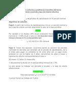 material didactico algortimos de solución problemas interes periodico y efectivo