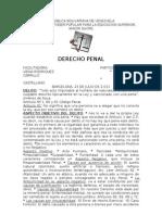 Material Triptico Derecho Penal Doctora