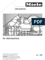 Miele Dishwasher Manual