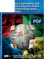 Guía Tecnica Sistema Regional de Información Climática