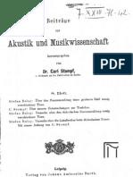 Beitraege zur Akustik und Musikwissenschaft (1915-08-Heft)