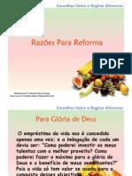 1 Razões Para Reforma