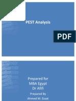 Egypt PEST Analysis