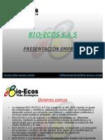 Presentacion Bio-ecos s.a.s