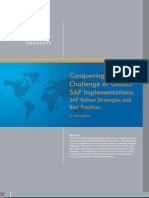 Conquering the Challenge of Global Sap Implementations