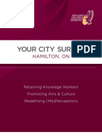 McMaster Students Union 2011 Your City Survey