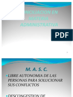 7- CONCILIACION ADMINISTRATIVA.- 01.08.09.