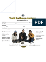 Youth Resiliency Registration Form