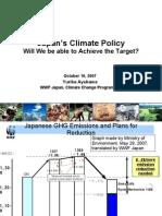 Yurika Ayukawa Japan s Climate Policy