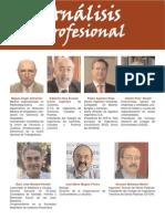 Análisis Profesional II Ley de Servicios Profesionales (sección colegiación)