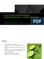The Evolution of Microwave Communications