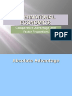 international economics - absolute advantage powerpoint