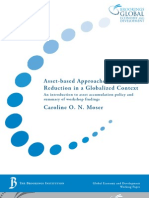 Asset-Based Approaches to Poverty - Moser