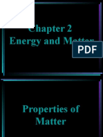 Unit 2 - Energy and Matter