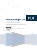 Trabalhando Com Templates No MS Project 2007 FINAL