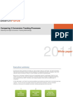 Comparing 3 Conversion Tracking