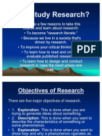 Methods of Research 1