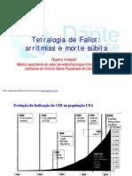 Aula tetralogia de Fallot e morte súbita