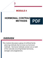 4- Hormonal Contraceptives