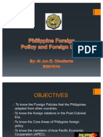 Philippine Foreign Policy and Foreign Land-HUM17