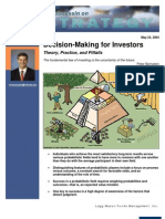 Decision-Making for Investors