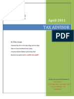 Tax Advisor April 2011