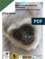 Indonesian Gibbon Workshop Final Report 2008