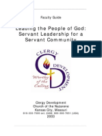 Servant Leadership Module