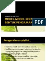 Model-model Reka Bentuk Pengajaran
