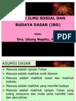 Materi Ilmu Sosial Dan Budaya Dasar