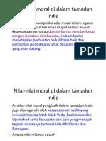 Nilai-Nilai Moral Di Dalam Tamadun India