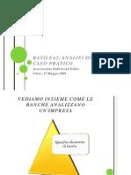 Basilea 2 Analisi Di Un Caso Pratico