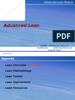 LSS Advanced Lean GE 50503 x