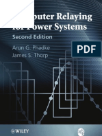 Computer Relaying for Power Systems - Arun Phadke