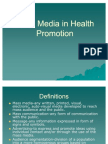 Mass Media in Health