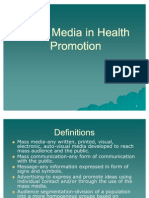 Mass Media in Health