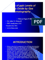 Analysis of ppb Levels of Nitrous Oxide by Gas Chromatography