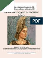 Manual Da Inscricao Em Disciplinas SIGA
