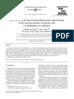 1,2-Indanedione in Methanol