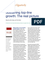 Sustaining Top-line Growth the Real Picture