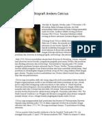 Biografi Anders Celcius