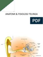 ANATOMI & FISIOLOGI TELINGA