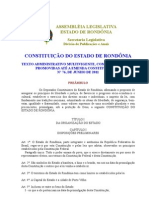 constituição de rondonia