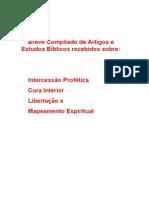 Varios Estudos Sobre- Intercessao Profetica-Cura Interior-Libertacao-Mapeamento Territorial