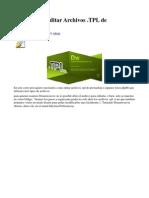 Sabes Cómo Editar Archivos .TPL de Prestashop _